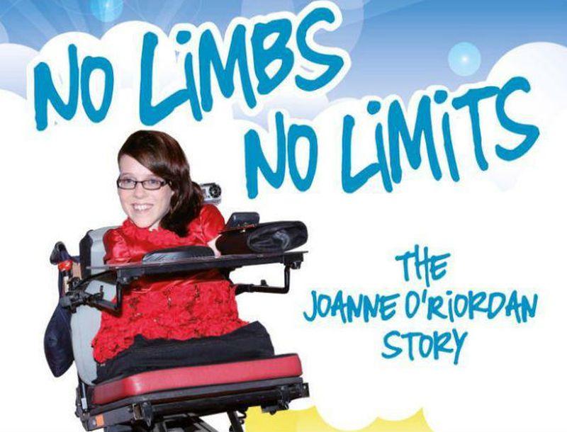 Joanne O' Riordan - No limbs, No limits - Peliculas de superacion