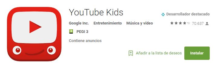 youtube kids app google play kamene projects agencia marketing digital alicante