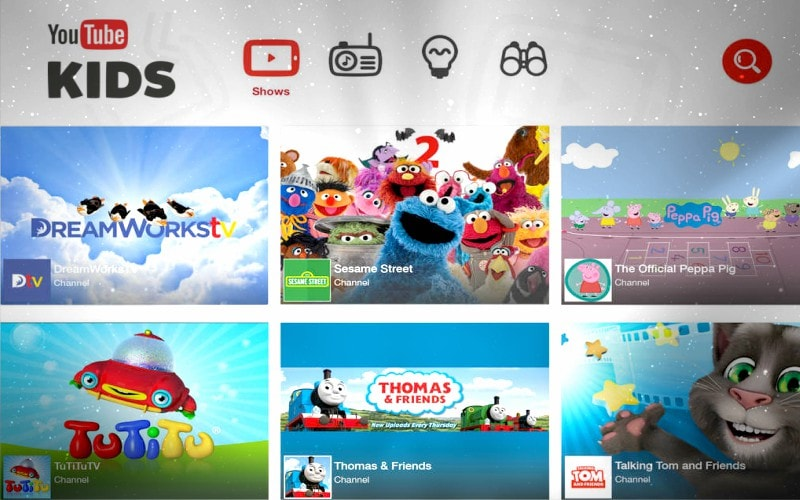 youtube kids menu kamene projects agencia marketing digital alicante