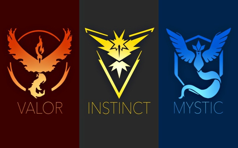 pokemon go equipos valor instinct mystic seguridad agencia marketing digital alicante kamene projects