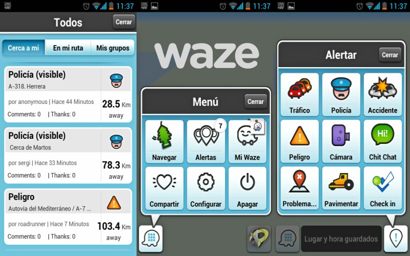 waze app google maps trafico agencia marketing digital alicante kamene projects menú