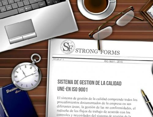 Strong Forms – ISO · Gestión Calidad