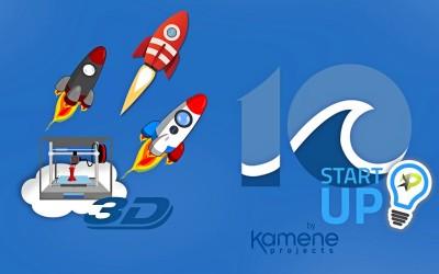 10 startup en impresión 3d marketing digital alicante kamene projects