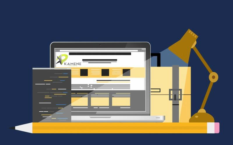 web diseño profesional corporativo kamene projects marketing digital consultoría empresarial alicante escritorio