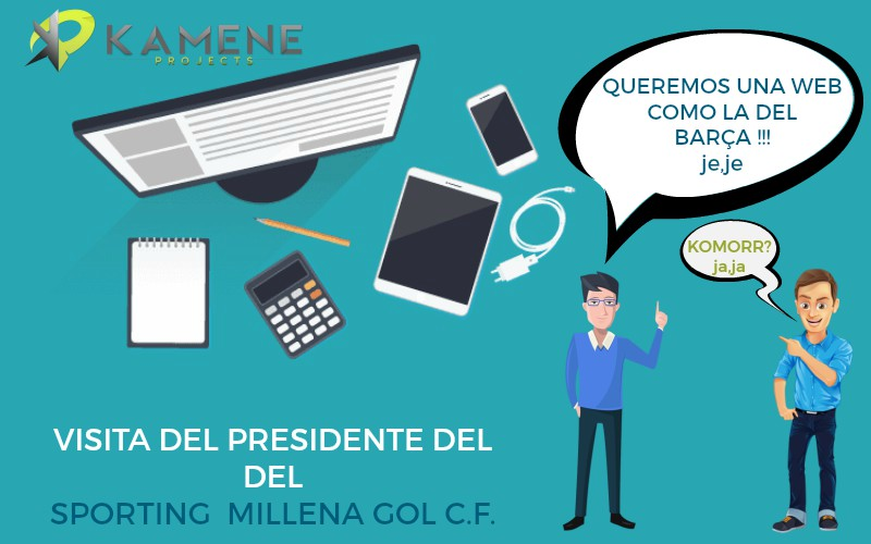 web diseño profesional corporativo kamene projects marketing digital consultoría empresarial alicante visita