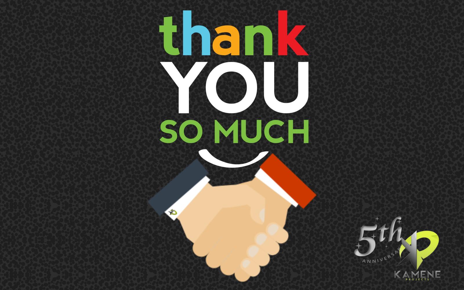 aniversario nº5 consultoría agencia marketing digital alicante kamene projects gracias