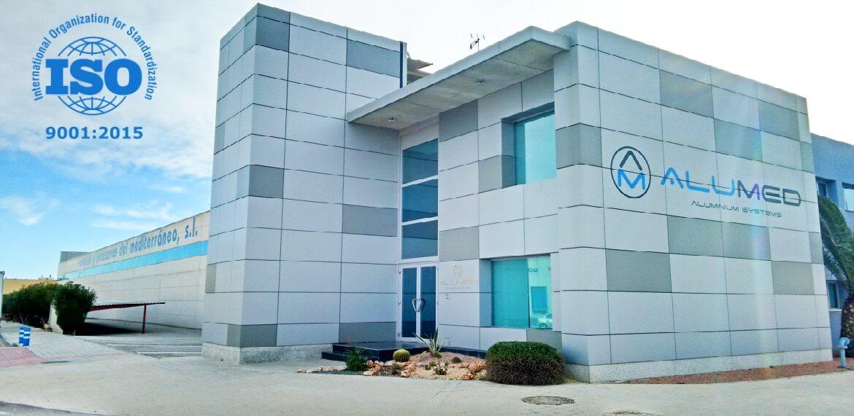 alumed implantacion sistema gestion calidad iso 9001 2015 portfolio sistemas aluminio construccion consultoria empresarial alicante kamene projects