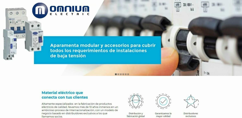 omnium electric implantacion sistema gestion calidad iso 9001 2015 portfolio fabricacion productos electricos calidad consultoria empresarial alicante kamene projects